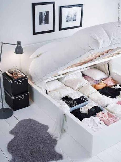 idee fai da te per arredare piccole camere da letto. il ...