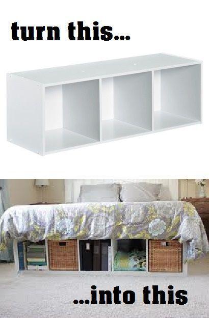 Idee fai da te per arredare piccole camere da letto - Soluzioni per camere da letto piccole ...