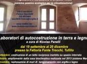 Workshop laboratori autocostruzione Tufillo Celenza. Programma fine 2015
