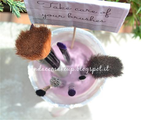 Diy porta pennelli makeup fai da te shabby chic paperblog - Porta pennelli fai da te ...