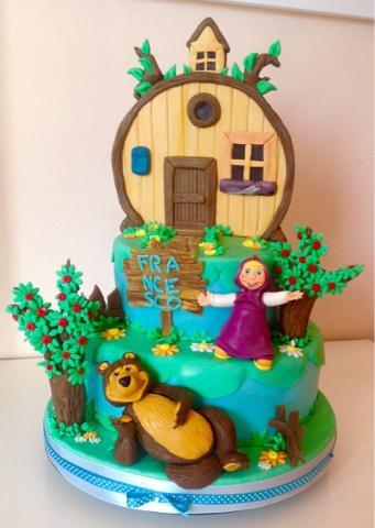 Torta Di Masha E Orso Paperblog