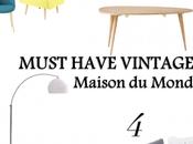 Must have casa vintage: MAISON MONDE