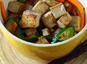 Tofu marinato salsa soia