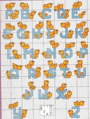 Alfabeti e monogrammi per bambini paperblog for Alfabeti a punto croce per bambini