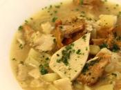 Zuppa porcini finferli