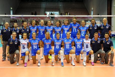Calendario Italia Volley.Europei Volley Femminile 2015 Italia Pronta Al Debutto Nel