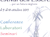 Festival dell'Essere Parma, 10-11 Settembre 2015