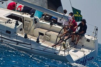 Vela - X-41 alla Rolex Capri Sailing Week: i partenopei in testa alla classifica