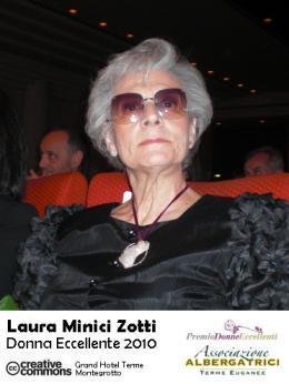La Cultura ha una Donna Eccellente: Laura Minici Zotti