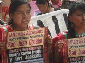 Oaxaca, Messico: comunicato stampa video-interviste Municipio Autonomo Juan Copala