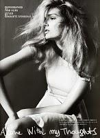 ALONE WITH MY THOUGHTS... Vogue Nippon July 2010  with Lily Donaldson by Josh Olins