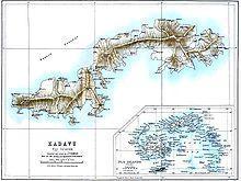 Kadavu, quarta isola piu' grande delle Fiji, l'Astrolabe Reef