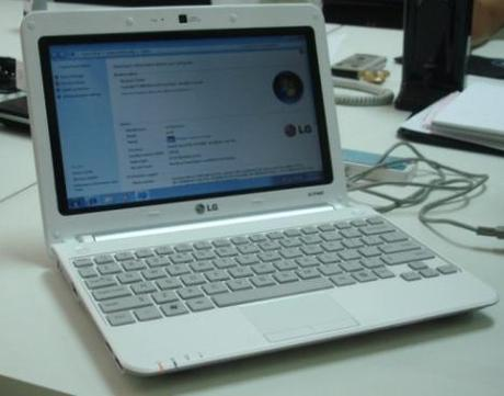 LG X140 Netbook Officially Announced