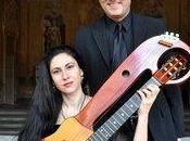 Concerto Chitarre –Lyra SIMONA BONI GIULIO TAMPALINI giugno Castello Udine