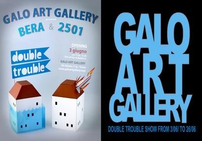 GALO ART Gallery - DOUBLE TROUBLE