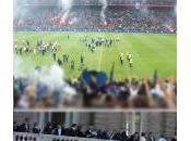 mila tifosi Meazza, alle mattino, l'Inter Campione D'Europa, nazionale raduna fischi contestazioni