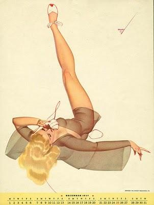 Pin up by George Petty