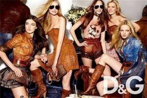 D&G; presenta la donna è Far West e femminile per l'Estate 2010