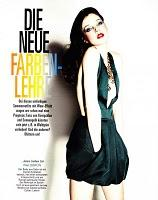 DUE NEUE FARBENLEHRE... Glamour Germany June 2010 by Nagi Sakai with Megan McNierney and Charon Cooijmans