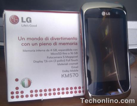 Recensione: LG Surf 4GB (KM570) by Techonlino.com