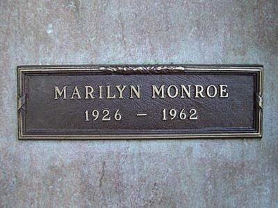 Notizie pazze dal web!! tutta la morte vicino a marilyn monroe