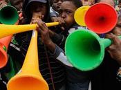 "Mondiale, sudafrica ""vuvuzela suonate troppo piano"" world cup, south africa: ""vuvuzelas played low"""