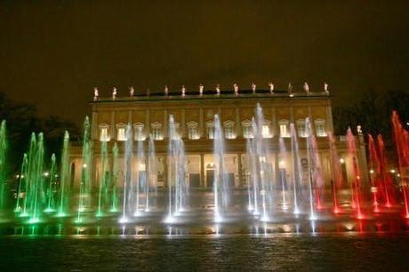 Italia 150 notte tricolore le foto paperblog for Tre stelle arreda reggio emilia