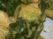 Pollo zucchine zenzero