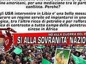 nuova operazione coloniale contro Libia