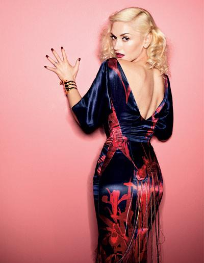 GWEN STEFANI//ELLE UK//Cover//April2O11