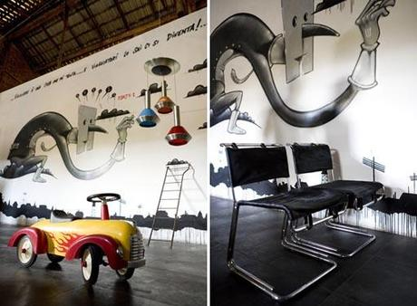 Modernariato ricerca e design loft a roma foto gallery for Modernariato e design