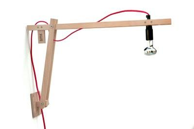 Diy lamp lampada fai da te di rmkdesign paperblog - Lampade da parete fai da te ...