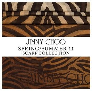 JIMMY CHOO / SCARF COLLECTION /  S/S 2011