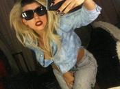Lady Gaga come Cristiano Malgioglio