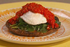 Dimagrire con gusto funghi arrosto con salsa al peperone for Cucinare a 70 gradi