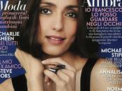 "AMBRA ANGIOLINI copertina ""VANITY FAIR"""