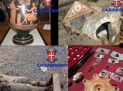 Traffico internazionale reperti archeologici, arresti sequestro preziosi archeologici Molfetta Campania.