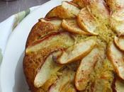 Torta mele integrale centrifugato zucca, cannella