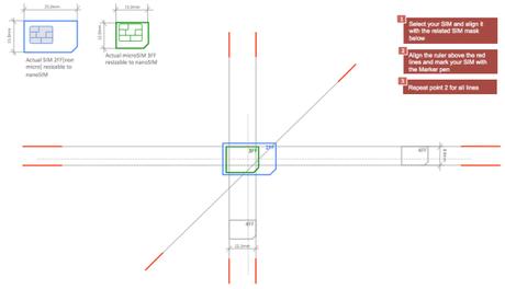 how to cut micro sim to nano sim template