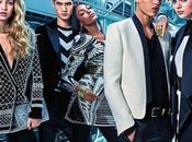 #FOCUSON: Balmain H&M, prime immagini della collezione uomo.