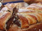 Treccia Pasta Sfoglia Cioccolato Fondente Peperoncino