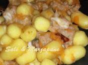 Gnocchi piccanti zucca, salsiccia scamorza affumicata