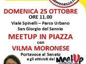Domenica ottobre meetup piazza portavoce senato vilma moronese