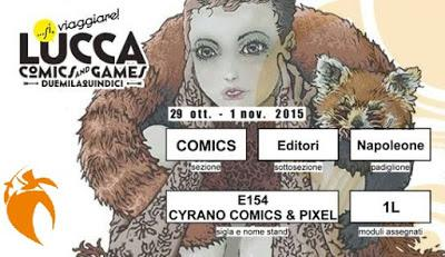Cyrano a Lucca Comics and Games 2015