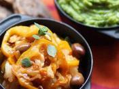 Merluzzo peperoni olive Purea broccoli patate