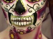 Halloween Make Calavera Mexicana