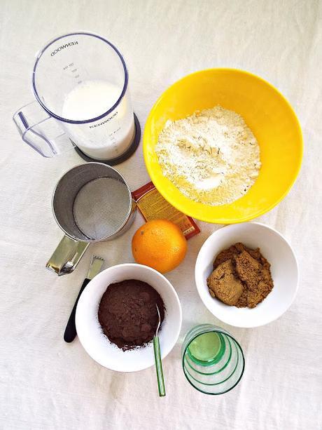 Dark Orange cake (senza uova e senza burro)