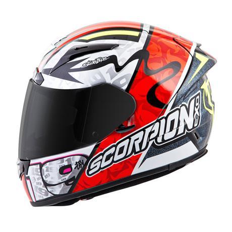 Scorpion EXO-2000 Air EVO Replica Alvaro Bautista 2015 ...