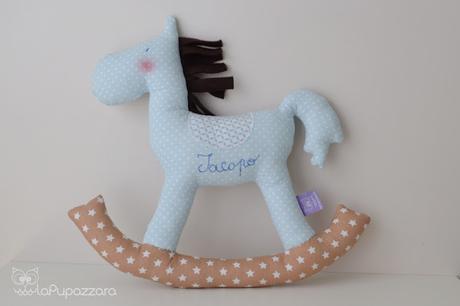 Cavalluccio A Dondolo A Punto Croce.Cavallo A Dondolo Paperblog