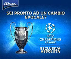 67dcb9853 Premium Mediaset, Champions 4a giornata - Programma e Telecronisti ...